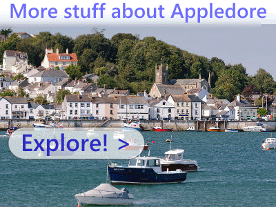 Other Appledore events, North Devon cafes, restaurants and history