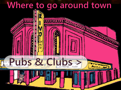 Venues like Social Club, Champ, Beaver and Royal Hotel hosting live music events